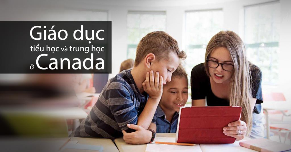 Giáo dục tiều học và trung học ở Canada