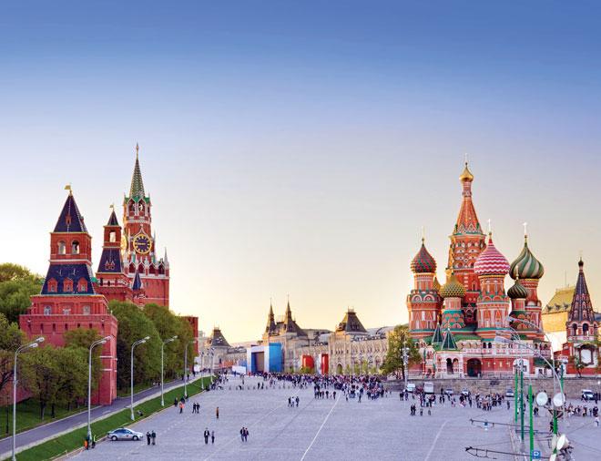 Nước Nga tươi đẹp