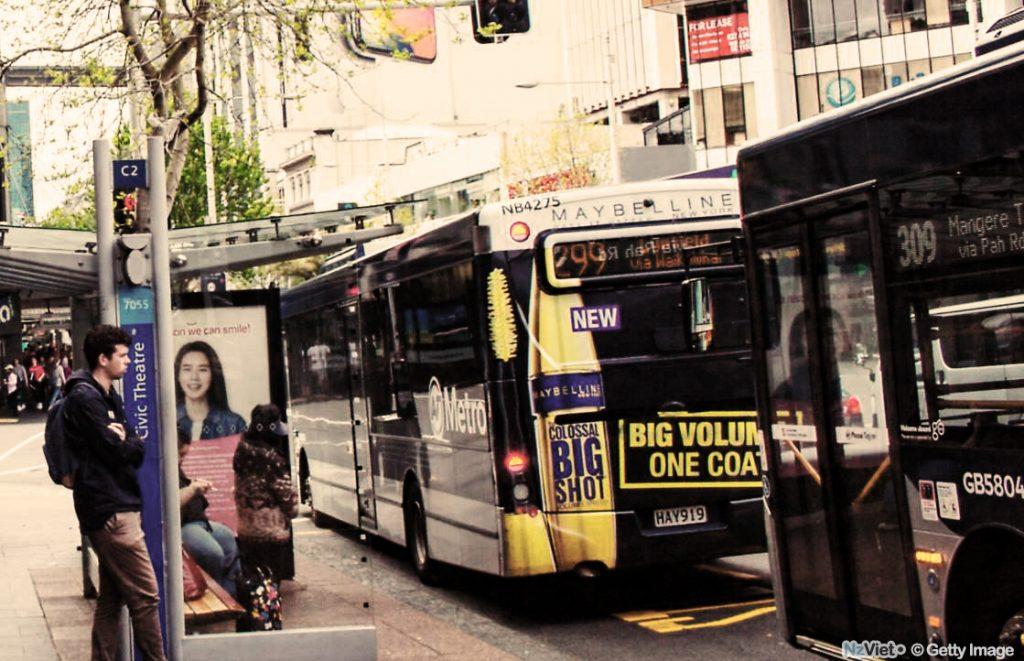 New Zealand có hệ thống xe bus với mức giá thân thiện cho sinh viên
